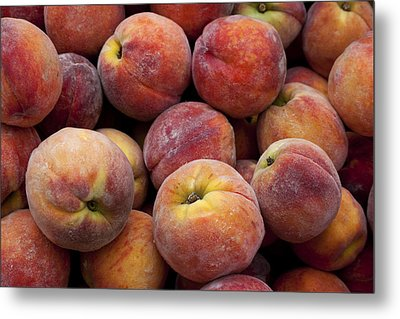 Peaches 3 Metal Print by Robert Ullmann