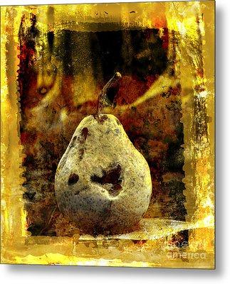 Pear Metal Print by Bernard Jaubert