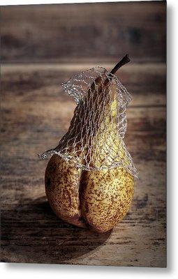 Pear Metal Print by Nailia Schwarz