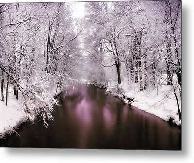 Pearlescent Metal Print by Jessica Jenney