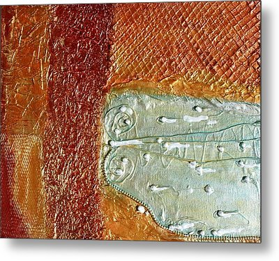 Pearls Of Wisdom Metal Print by Victoria  Johns