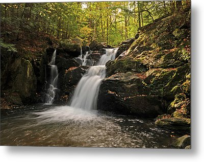 Metal Print featuring the photograph Pecks Falls by Mike Martin
