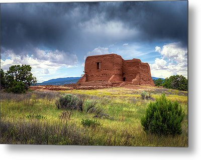 Pecos National Historical Park Metal Print by James Barber