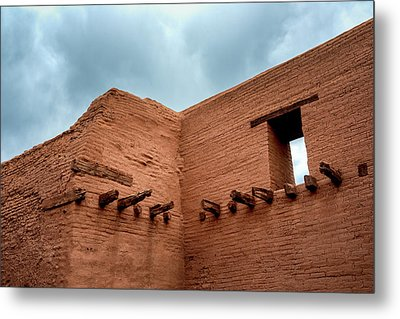 Pecos Timbered Ruins Metal Print by James Barber