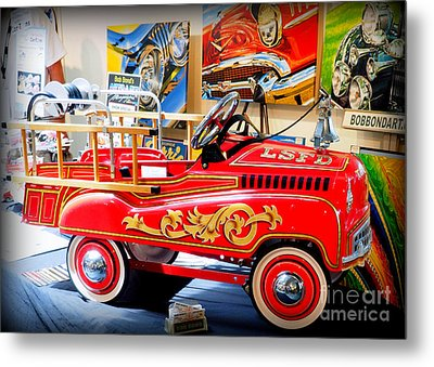 Peddle Car 1 Metal Print