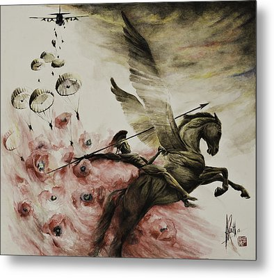 Pegasus Metal Print by Alan Kirkland-Roath