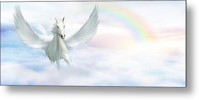 Pegasus Metal Print by John Edwards