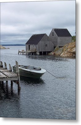 Metal Print featuring the photograph Peggys Cove Canada by Richard Bryce and Family
