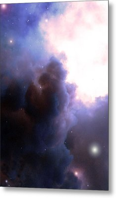 Pelion Nebula Metal Print
