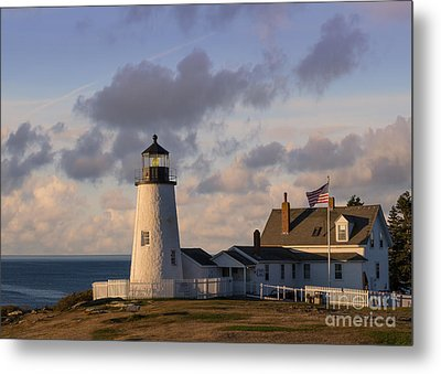 Pemaquid Morning Metal Print