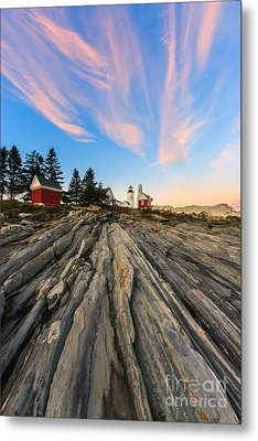 Pemaquid Point Lighthouse Metal Print by Henk Meijer Photography