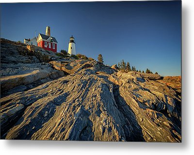 Pemaquid Point Metal Print by Rick Berk
