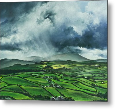 Pendle Hill. Lancashire.england. Metal Print by Jan Farthing