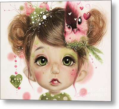 Penelope  Metal Print by Sheena Pike