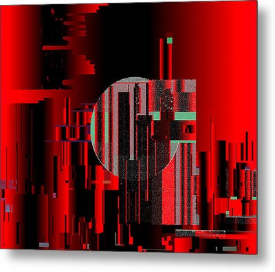 Metal Print featuring the painting Penman Original - 105 by Andrew Penman