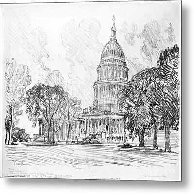 Pennell Capitol, 1912 Metal Print by Granger
