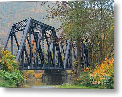 Pennsylvania Bridge Metal Print