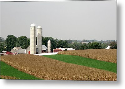 Pennsylvania Farmland Metal Print by Gordon Beck