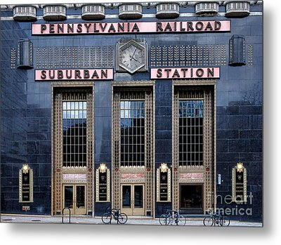 Pennsylvania Railroad Suburban Station Metal Print