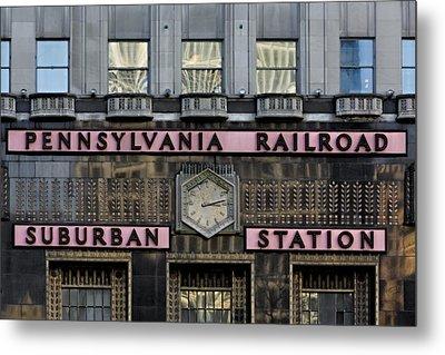 Pennsylvania Suburban Station -  Metal Print by Susan Candelario
