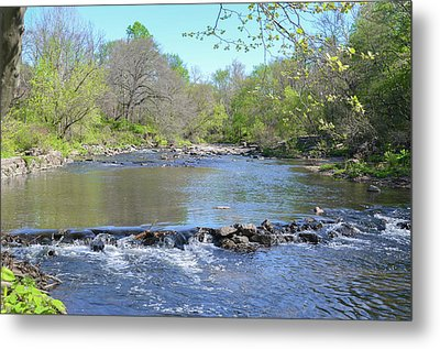Metal Print featuring the photograph Pennypack Creek - Philadelphia by Bill Cannon