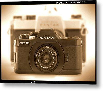 Pentax 110 Auto Metal Print by Mike McGlothlen
