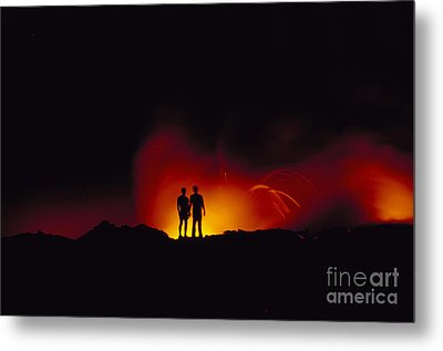 People View Lava Metal Print by Ron Dahlquist - Printscapes