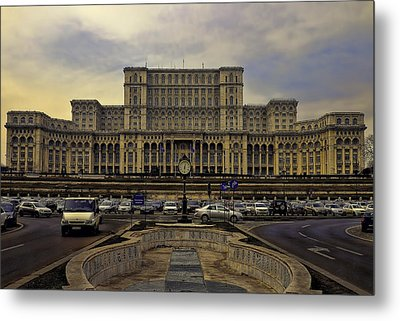Metal Print featuring the photograph People's Palace by Rob Tullis