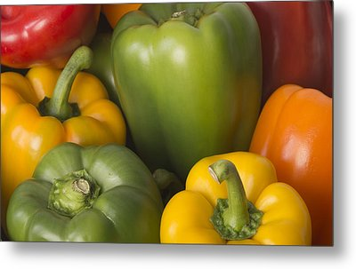 Peppered Delight Metal Print by Laura Pratt
