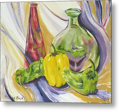 Peppers And Passion Metal Print
