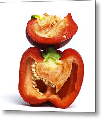 Peppers Metal Print by Bernard Jaubert