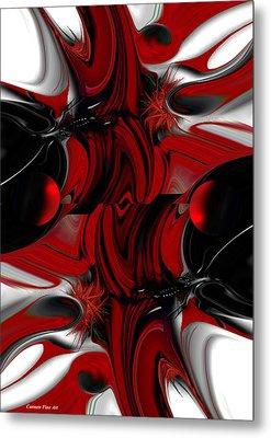 Perceptive Creation Metal Print by Carmen Fine Art
