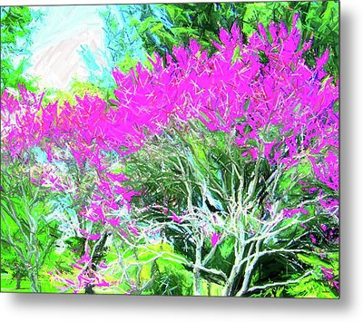 Metal Print featuring the photograph Perennial Garden by Susan Carella