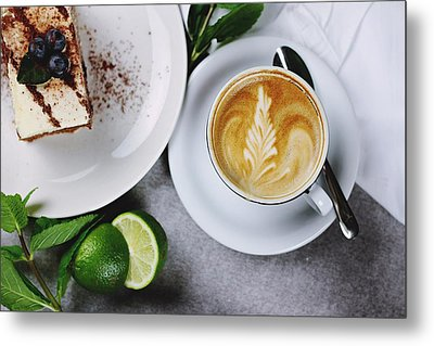Perfect Breakfast Metal Print by Happy Home Artistry