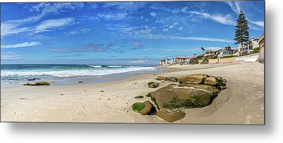 Metal Print featuring the photograph Perfect Day At Horseshoe Beach by Peter Tellone