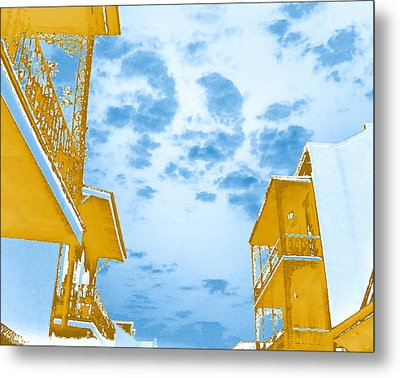 Perfect New Orleans Day Metal Print