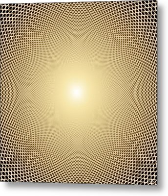 Perfect Oneness Metal Print by Robby Donaghey