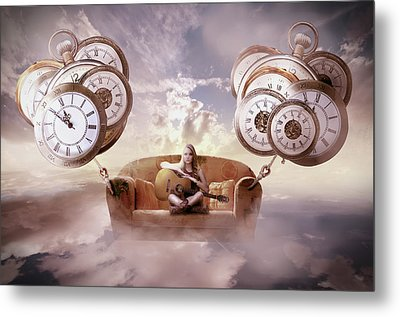 Perfect Timing  Metal Print by Nathan Wright