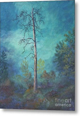 Perishing Ponderosa Metal Print by Malanda Warner