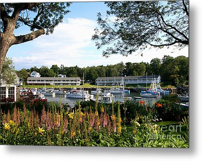 Perkins Cove Metal Print by Adrian LaRoque