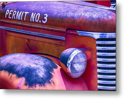 Permit No 3 Metal Print by Garry Gay