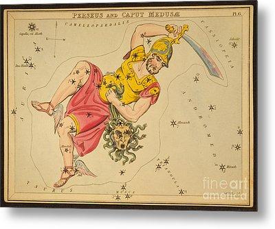 Perseus And Caput Medusae Metal Print