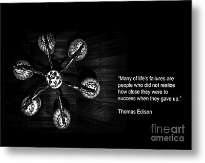 Persistence Metal Print by Charuhas Images