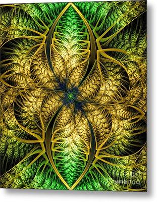 Petals Of Life Metal Print by Deborah Benoit