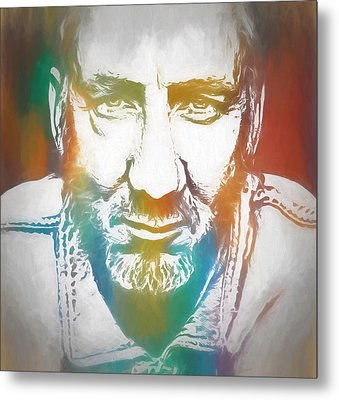 Pete Townshend Color Tribute Metal Print by Dan Sproul