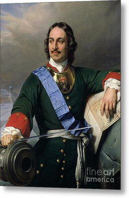 Peter I The Great Metal Print
