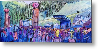 Peter Rowen At Copper Mountain Metal Print by David Sockrider