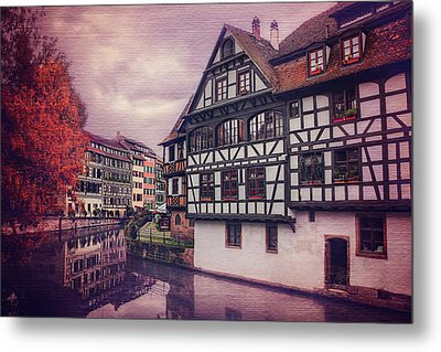 Petite France In Strasbourg  Metal Print by Carol Japp