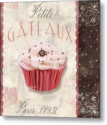 Petits Gateaux Metal Print by Mindy Sommers