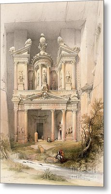 Petra Metal Print by David Roberts